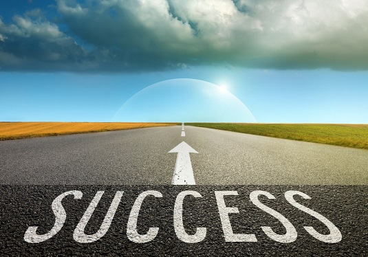 success down a road